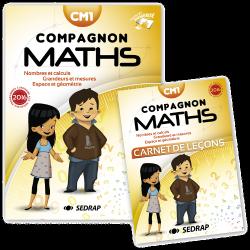 Manuel Compagnon Maths des Editions SEDRAP conforme aux programmes 2016