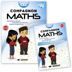 SEDRAP manuel Compagnon Maths CE2