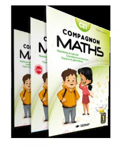 Fichiers Compagnon Maths CE1 des Éditions SEDRAP conforme aux programmes 2016