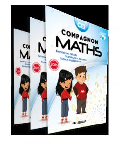 anuel Compagnon maths CE2 des Editions SEDRAP conforme aux programmes 2016