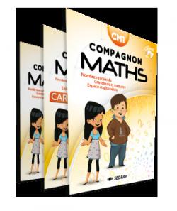 Manuel Compagnon Maths CM1 des Editions SEDRAP conforme aux programmes 2016