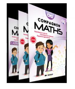 Manuel Compagnon Maths CM2 des Editions SEDRAP conforme aux programmes 2016