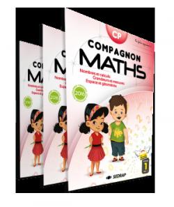 Fichiers Compagnon Maths CP des Éditions SEDRAP conforme aux programmes 2016